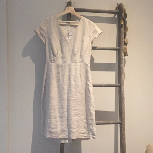 J. Crew Dresses & Skirts - Linen j.crew dress size 6 natural